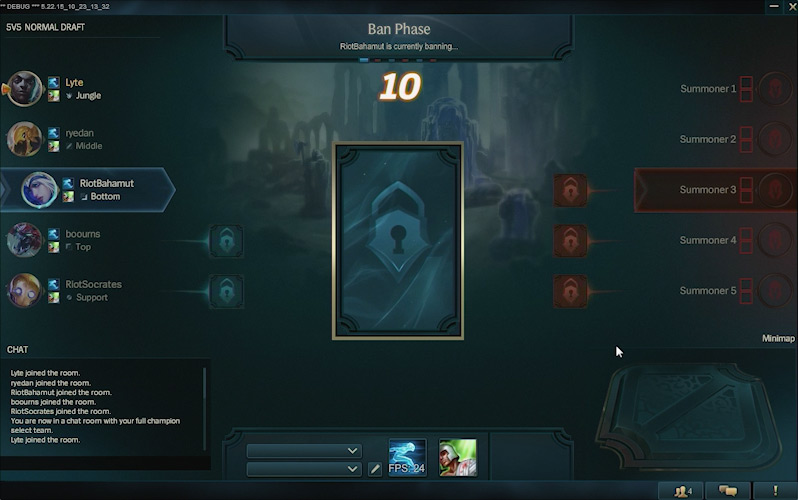 game crashes after champ select