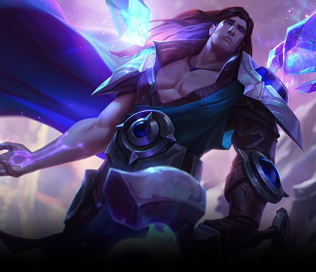 After all, look at those pecs, and Alistar ...